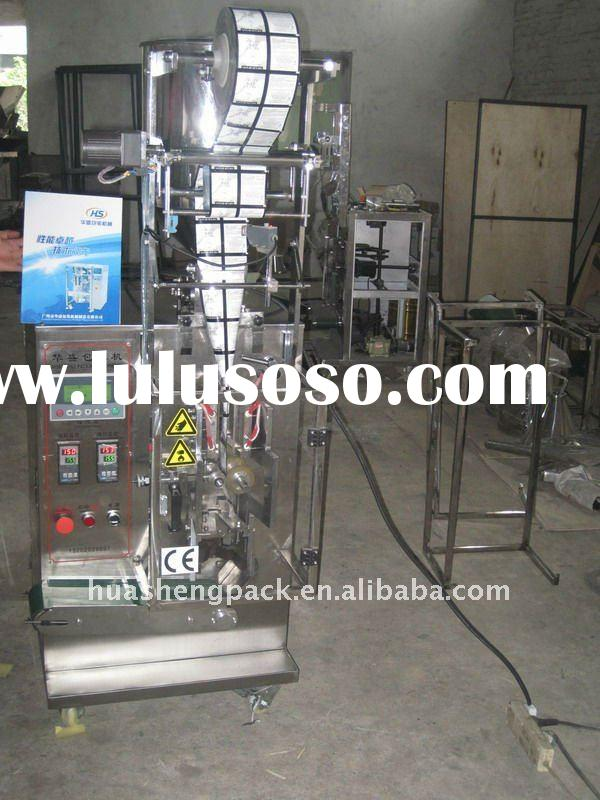 HS240Y Plastic sachet packet cosmetic filling machine liquid