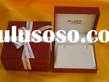 High quality paper jewelry box for ring packaging and display