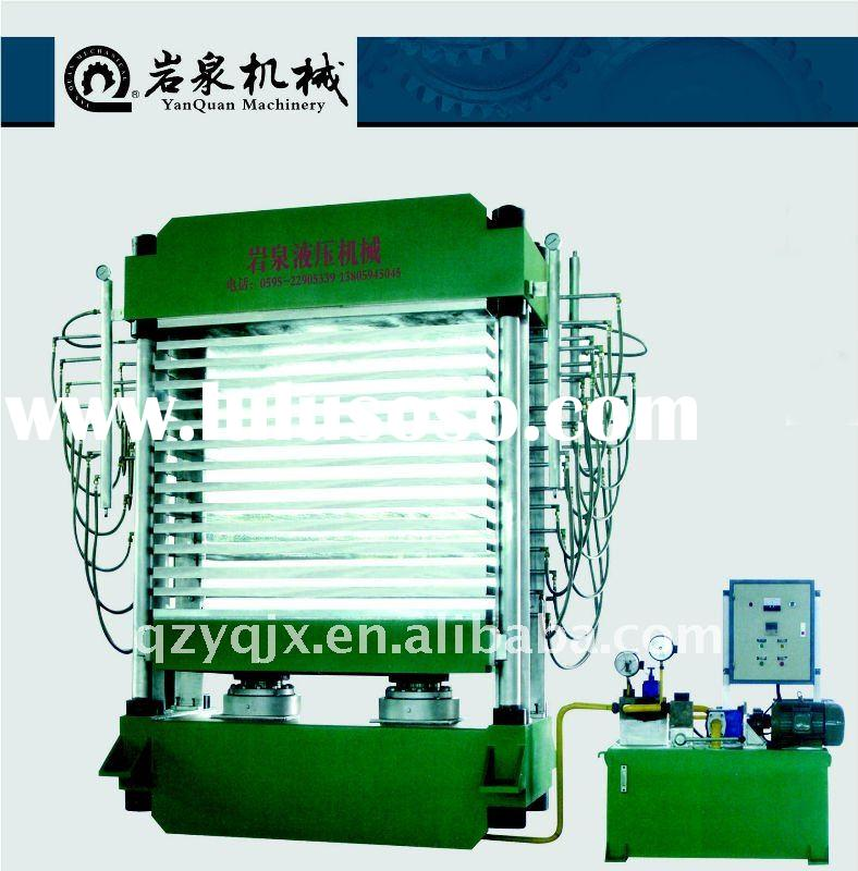 High quality plywood hot press