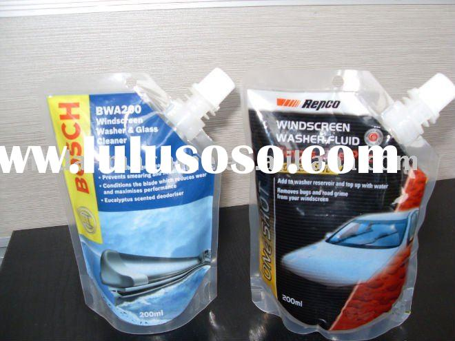 High speed windscreen washer fluid filling sealing packaging machine