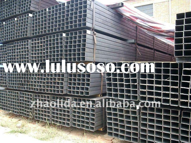 Hollow structural steel pipes for sale price china