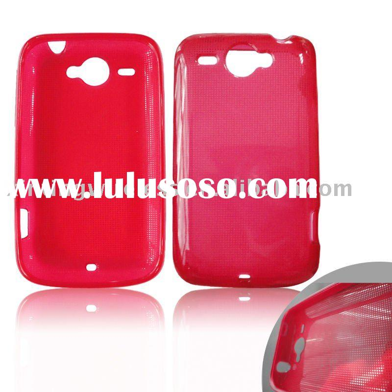 Hot Pink Mobile Phone TPU Case For HTC G8/HTC Wildlife