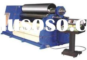 Hydraulic plate coiling machine with 4 rollers, roll bending machine