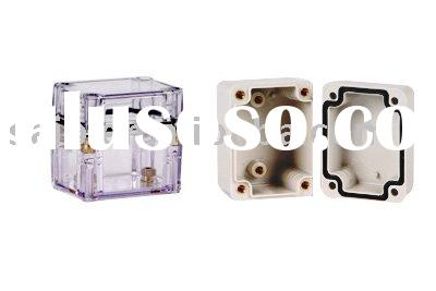 IP65 small ABS/PC portable enclosure ,plastic distribution box ,electrical switch box