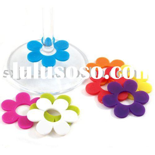 Identity Daisy Wine Glass Markers, Wine Glass Clip,Wine Charm