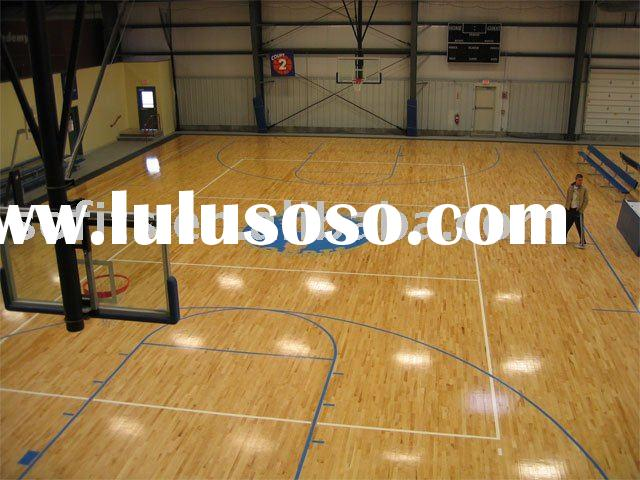 Indoor removable basketball halls floor basketball court for Indoor basketball court flooring cost