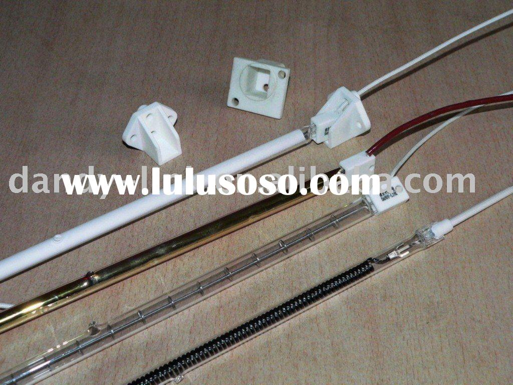 Infrared heater lamp and halogen quartz heating lamp
