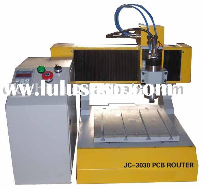 JC-3030 small pcb cnc router,drilling machine and milling machine
