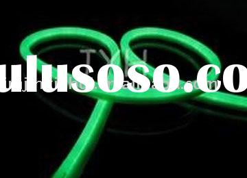 LED neon rope light green/led strip light