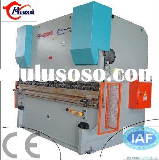 Large hydraulic sheet metal bending machine