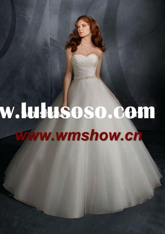 Latest Beautiful Charming Ball Gown 2012 Latest Bridal Wedding Gowns