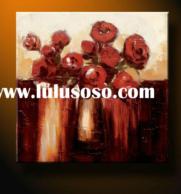 Latest Hot selling beautiful dance oil painting on canvas