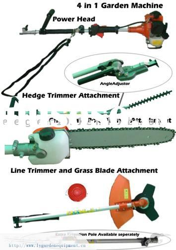 Long arm Heavy Brush Cutter hedge trimmer chainsaws