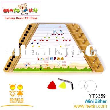 Mini zither ( music toys,musical instruments,toy musical instrument )