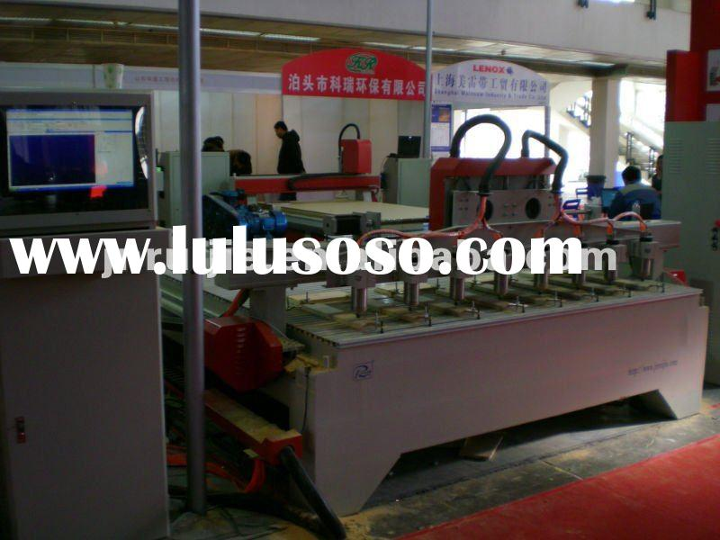 Multi-heads 3d Wood CNC Router Carving Machine