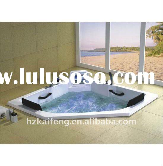Neo Angle Built in Jetted Bathtub for 2 Person