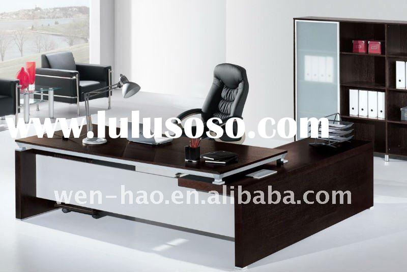 New modern MFC office desk V-306 high quality executive office furniture