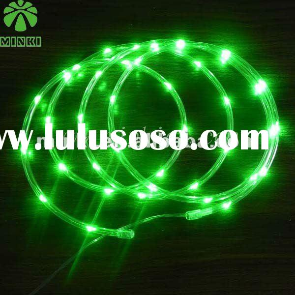 Newest battery operated outdoor christmas led rope lights