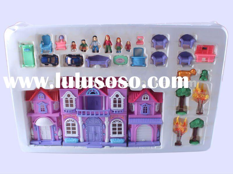 Plastic toy house ,kids doll house