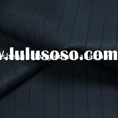 Poly/wool suiting fabric