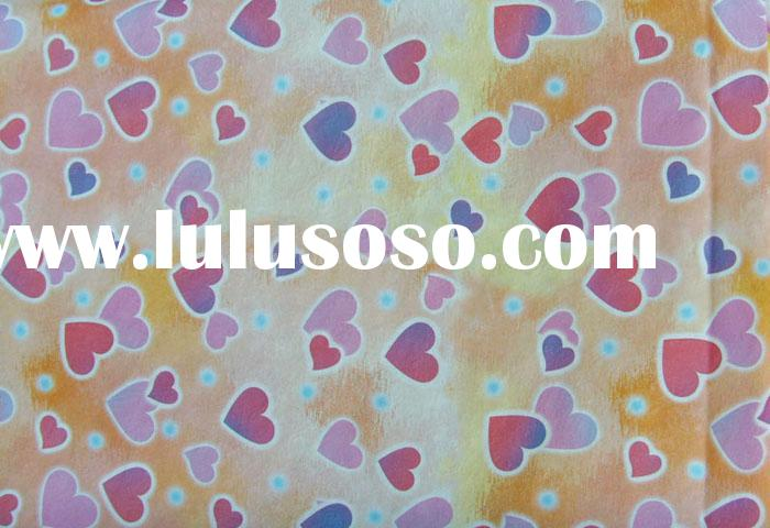 Printed wrapping art paper for gifts package