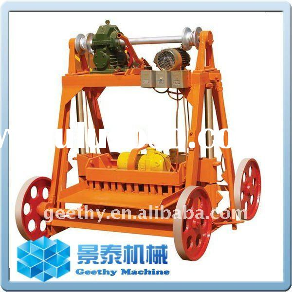 QT40-3B used brick making machine for sale