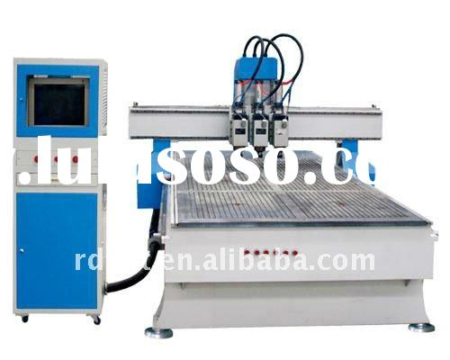 Cnc wood door carving router machine for sale price for Door design machine