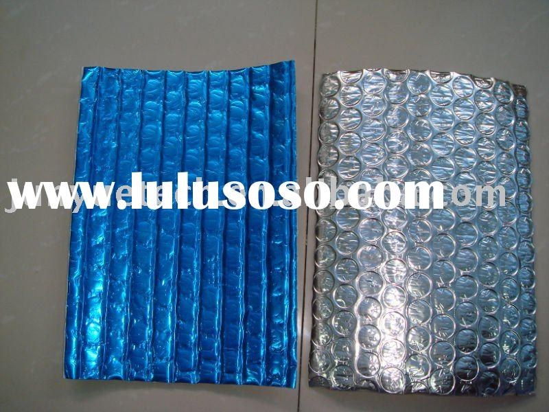 Roof and wall heat reflective insulation material