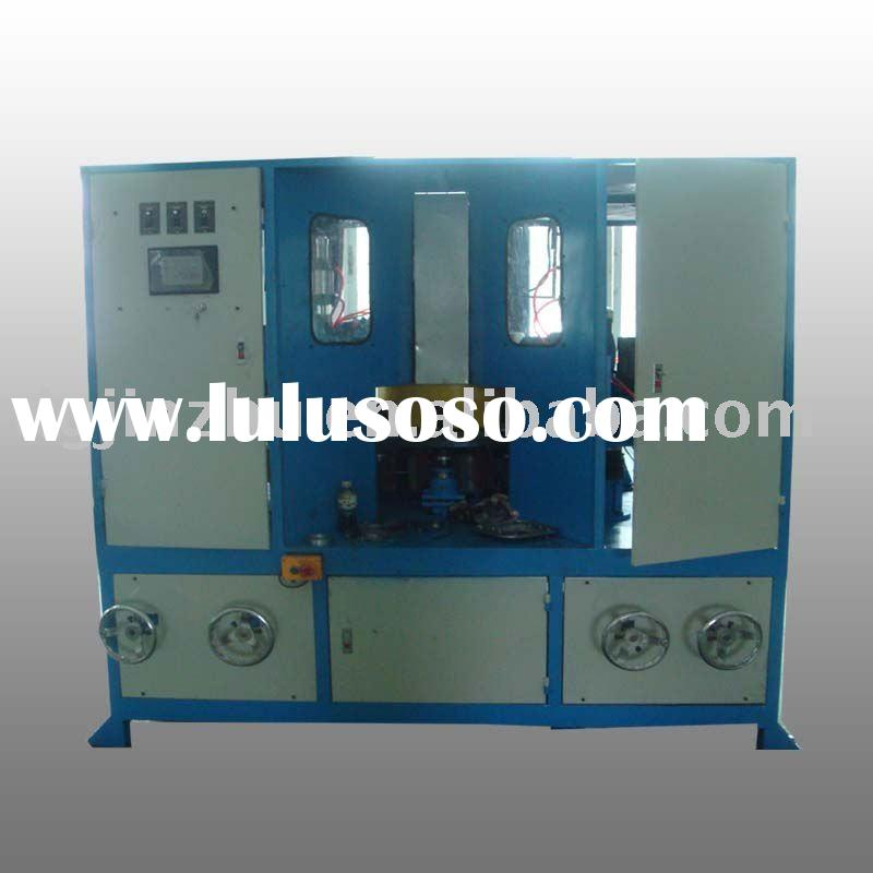Rotary table automatic sanding machine
