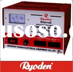 Servo-motor Control type Voltage Stabilizer (SVC-1000VA)