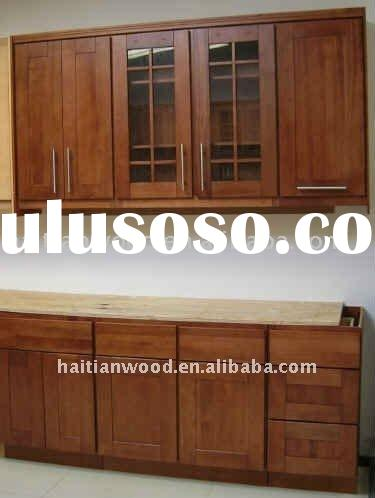 Shaker style solid wood kitchen cabinets