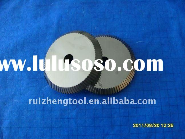 Solid carbide double angle milling cutter replace HPC key machine cutter