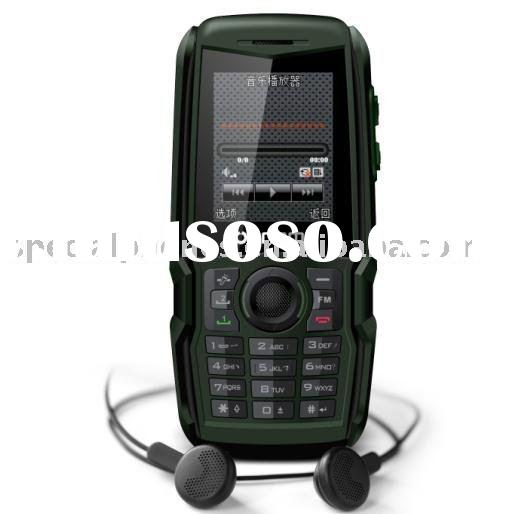 Sports Mobile phone with LM810 IP65 Dual SIM card,Bluetooth,torch,Video recorder,Slim body