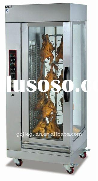 Stainless Steel Electric Chicken Rotisserie EB-206
