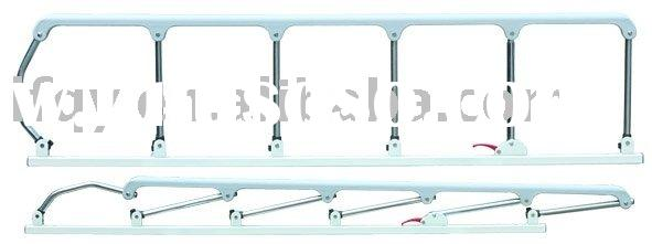 Stainless steel&aluminum alloy&plastic bed guard rail