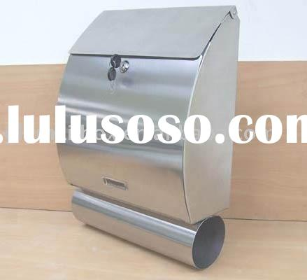 Stainless steel wall mounted style mailbox GLY-528S