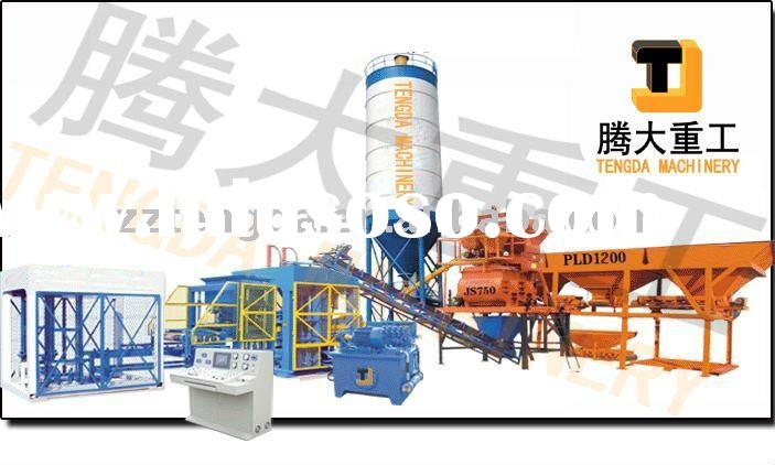 TD10-15 Automatic Cement Brick Making Machine
