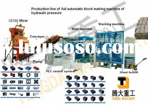 TD6-15 Fully Automatic Hydraulic Concrete Paving Block Making Machine