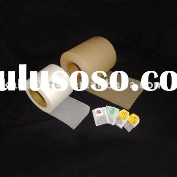 Tea Bag Paper and String&heat & non-heat sealable filter tea bag paper & sealed teabag p