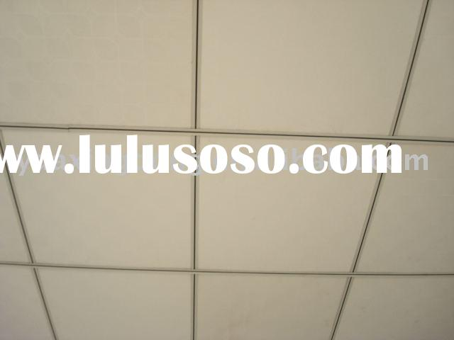 Vinyl Coated Drywall : Vinyl coated gypsum ceiling tile for sale price china