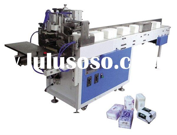 WD-82D-A Soft Face Tissue/Napkin Paper Bagging and Sealing Machine with Convey Belt