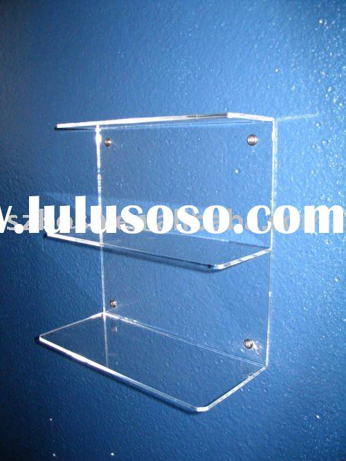 Wall Mounted Acrylic Book Stand,Perspex Shoes Display,Plexiglass Shoes Holder