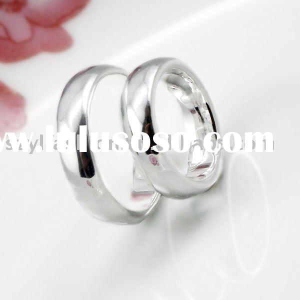 Wedding Ring Engagement Rings Couple Rings Jewelry Sets in O shape LE008