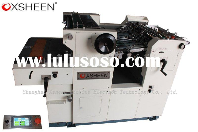 XHDM570 automatic numbering and perforating machine with LCD touch screen