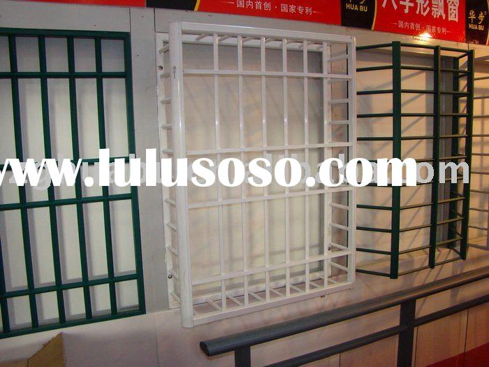 2012 French Newly Aluminum Window Grill Design Factory
