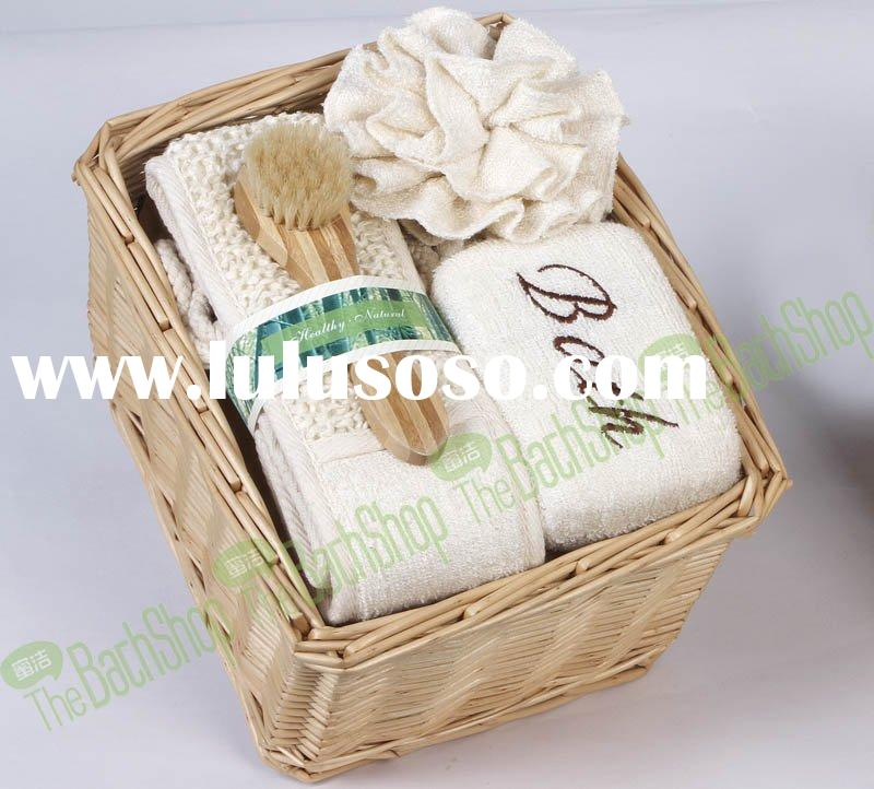 bamboo bath gift set
