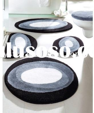 bathroom mat set/bath mat/ 5 pcs set