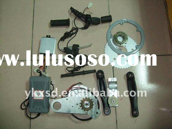 bicycle electric motor kit in the middle, 250W, 350W, 500W in 24V and 36V