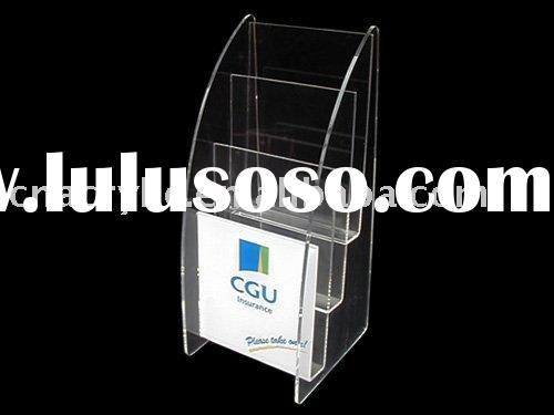 brochure holder, table sign holder, magazing holder