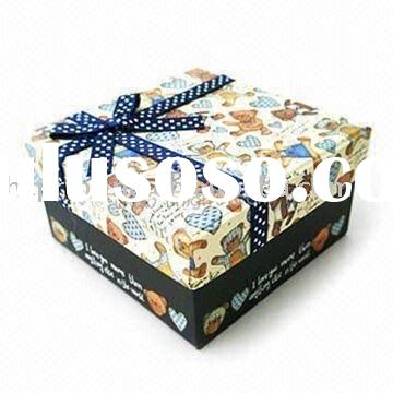 cardboard packaging gift box/paper folding gift box